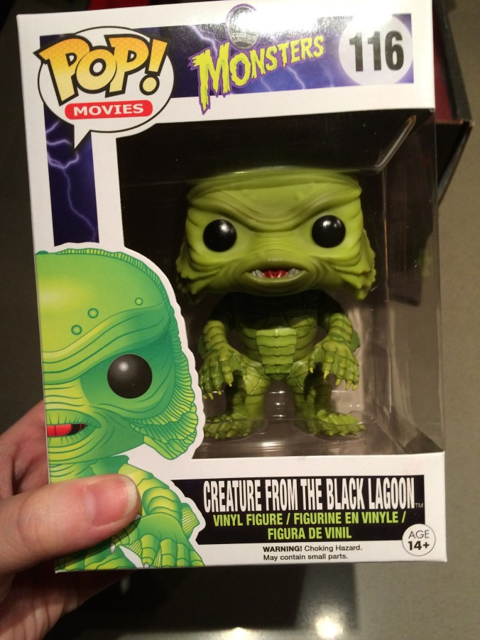 Creature From the Black Lagoon Pop Toy