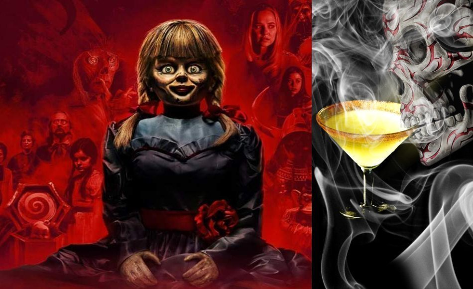 Horror Movies & Cocktails: 2019's 'Annabelle Comes Home' Review & Shooter Recipe