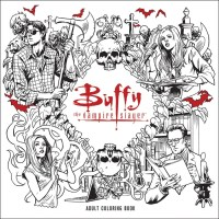 Buffy the Vampire Slayer Adult Coloring Book in December ...