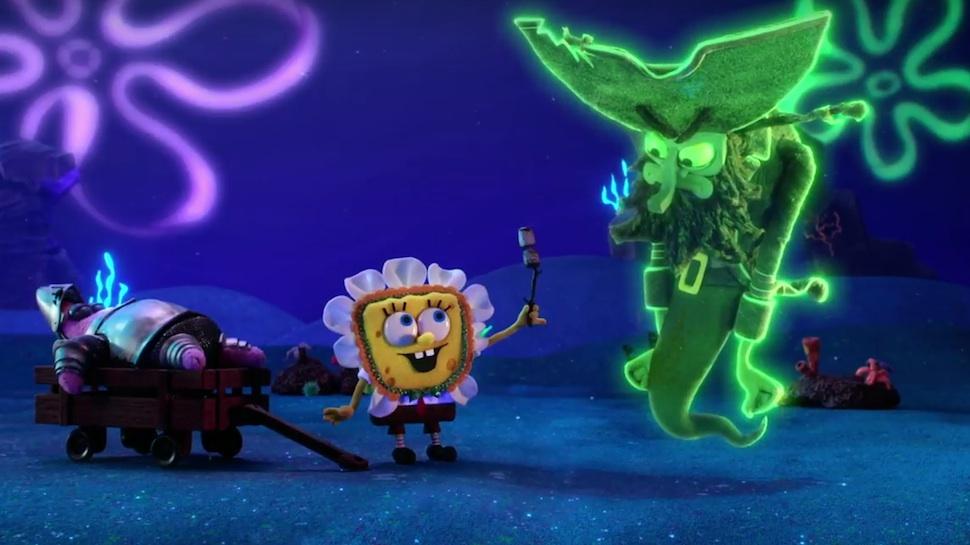 stop motion spongebob squarepants
