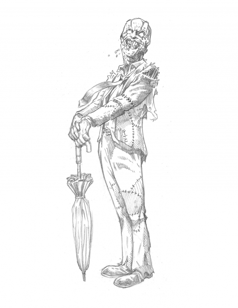 Exclusive Sketches from Dark Horse Comics 'Bedtime Games