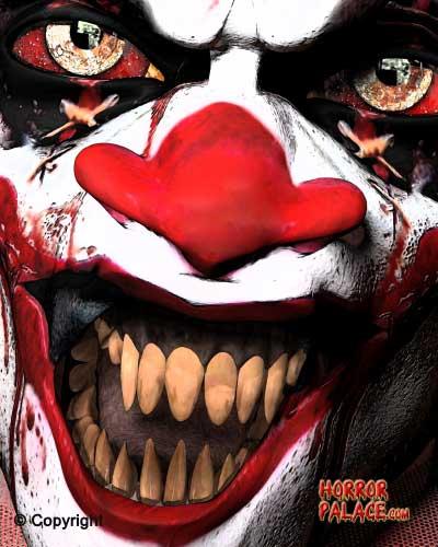 scary clowns horror palace