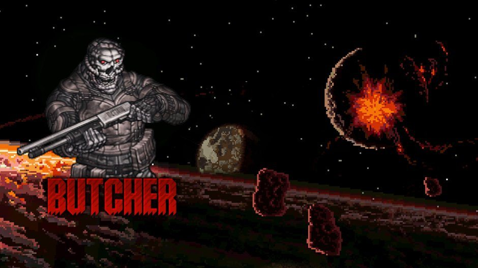 'Butcher,' a Rapid Skill-Based Carnage From the Makers of Soldat, is Coming to PS4 and Xbox One
