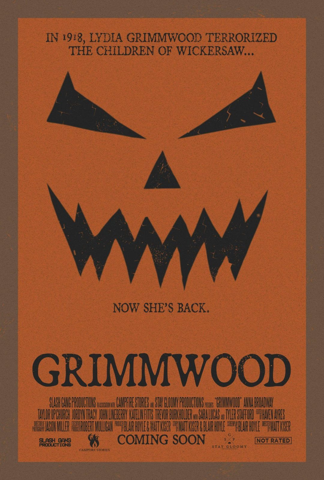 The First Poster for 'Grimmwood' Has Been Released