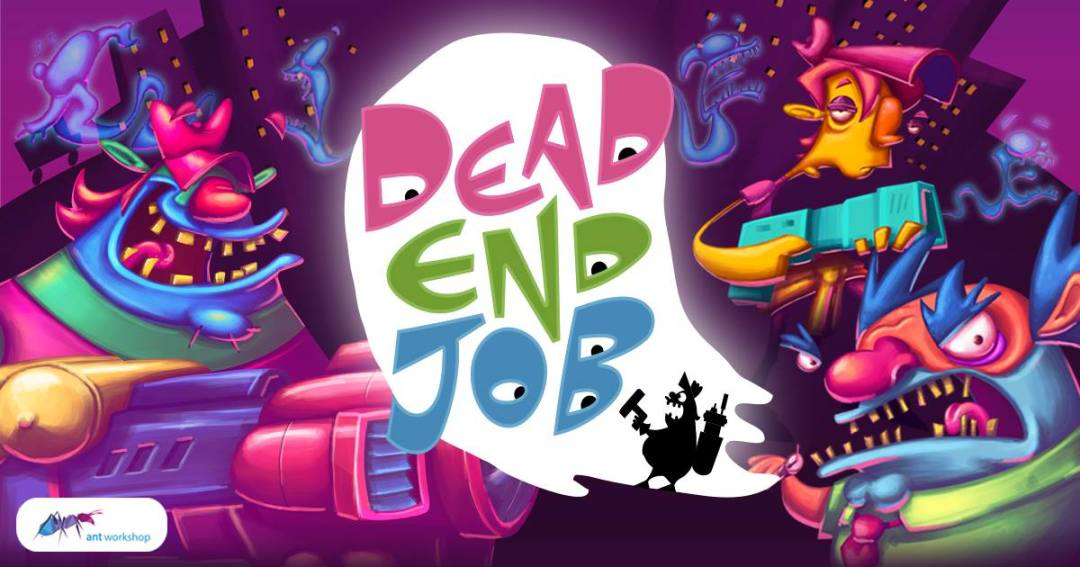 Blast Ghosts on the Go! 'Dead End Job' is Coming to Nintendo Switch