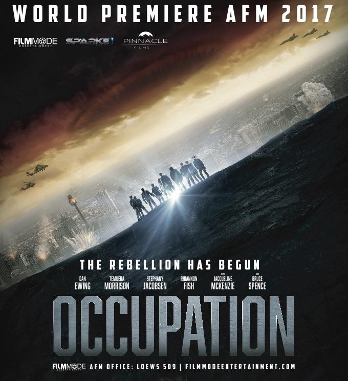 Luke Sparke's Sci-Fi Action Epic 'Occupation' Makes AFM World Screening Premiere and Debuts Key Art