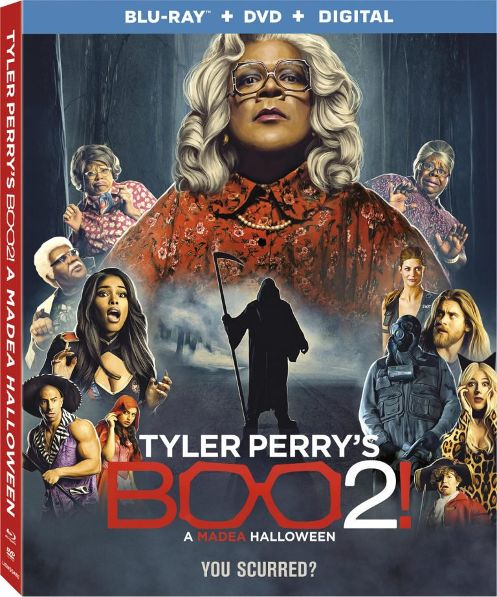 We Know You Want to Find Out When 'Tyler Perry's Boo! A Madea Halloween 2′ Blu-ray' is Coming Out!