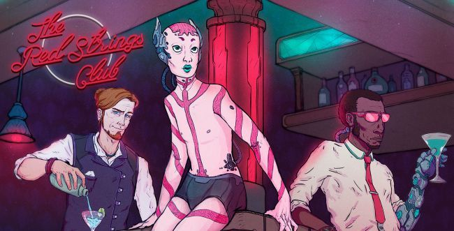 Gamers Be Prepared to Enter a Cyberpunk Wonderland in 'The Red Strings Club'