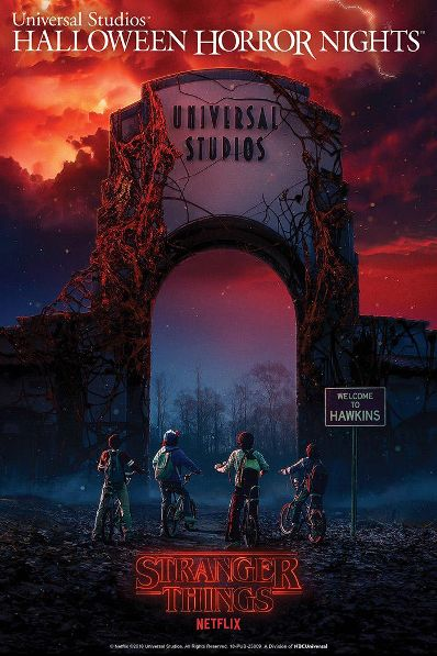 Halloween Horror Nights is About to Get…. Stranger