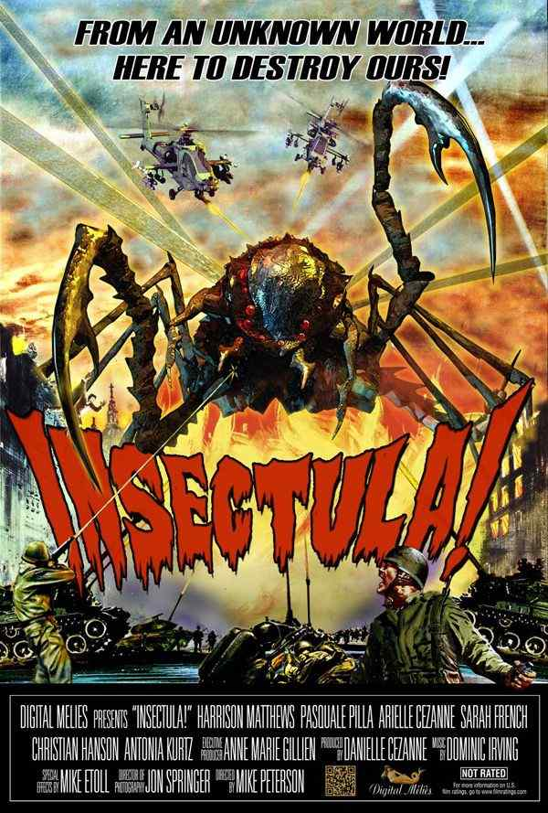 Insectula movie poster