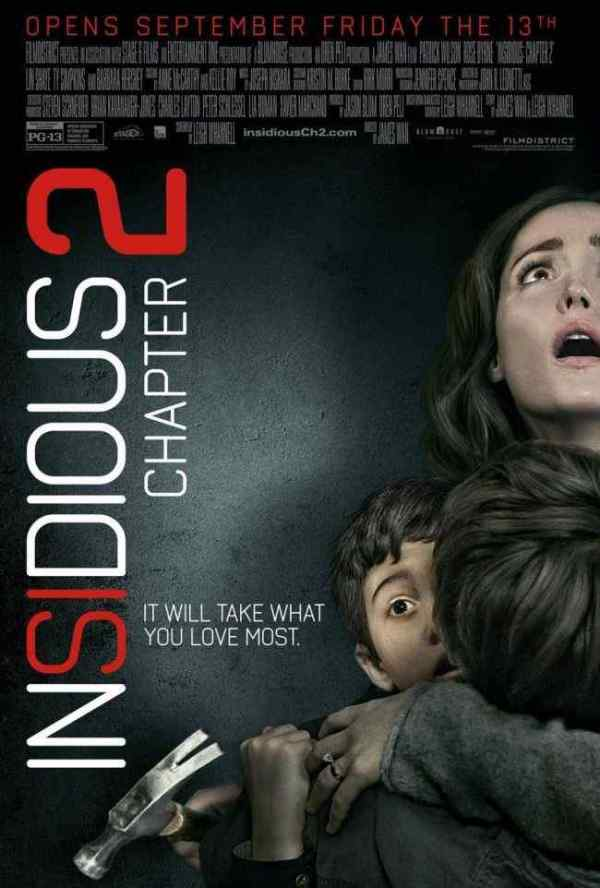 Insidious Chapter 2 movie poster 2