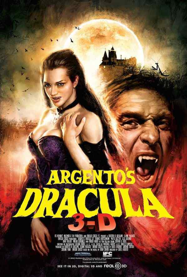 Dario Argento's Dracula 3D movie poster