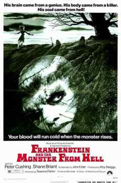 Frankenstein and the Monster From Hell movie poster