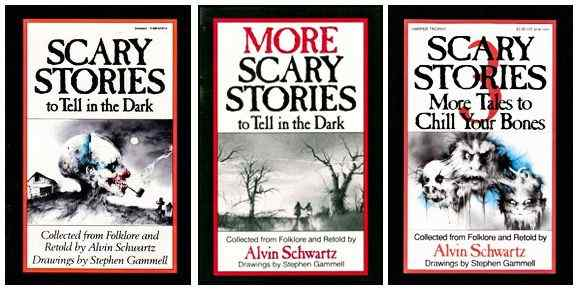 Scary Stories covers