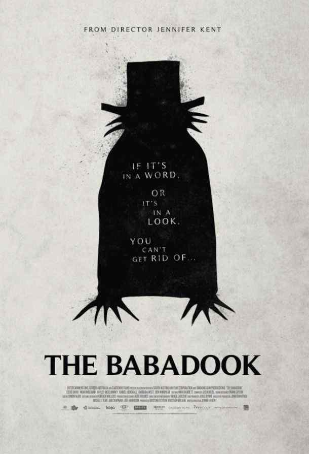 Theatrical Poster for THE BABADOOK - image source: Horror Society