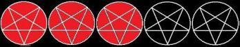 Pentagram 3 star ratings 2