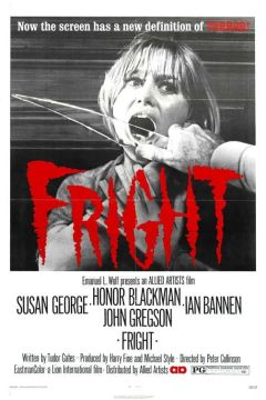 Fright movie poster
