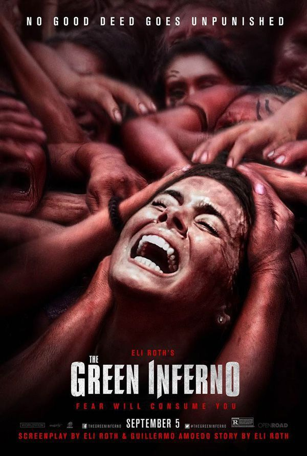Green Inferno movie poster