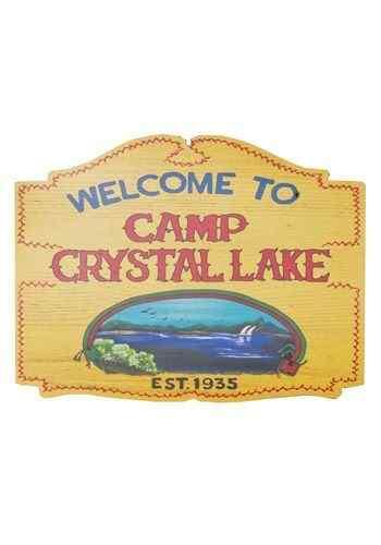 Friday the 13th - Camp Crystal Lake Sign