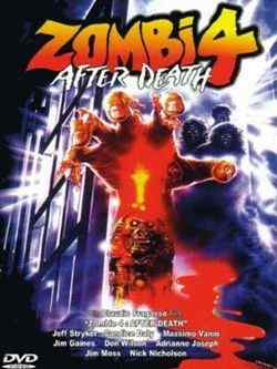 After Death Zombi 4 dvd