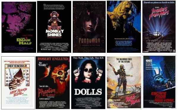Scream Factory comic con titles