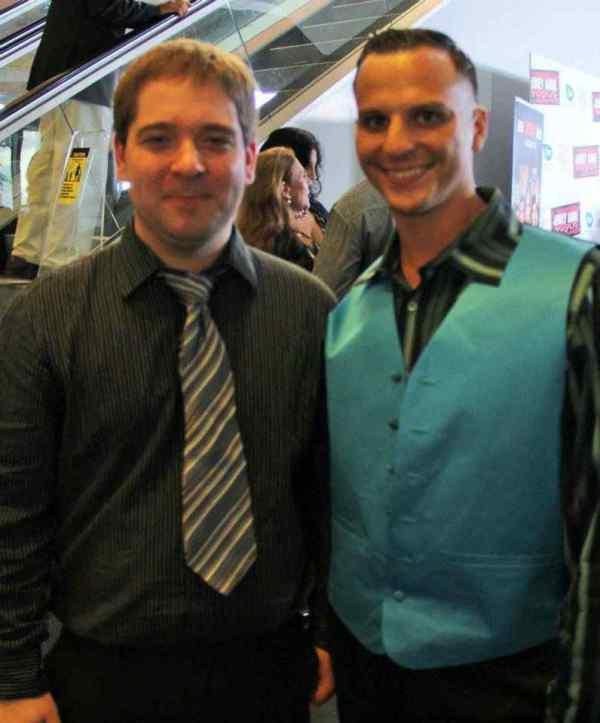 Myself and Chris Lazzaro.
