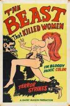 The Beast that Killed Women movie poster