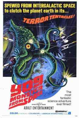 Yog Monster from Space movie poster