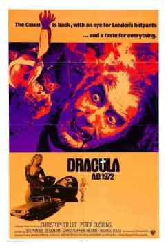 Dracula A.D. 1972 movie poster