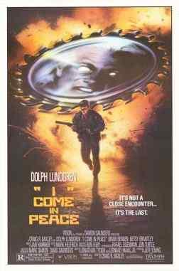 I Come in Peace movie posster