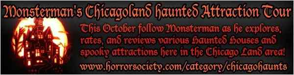 Monsterman's Chicagoland haunted attraction tour banner 2