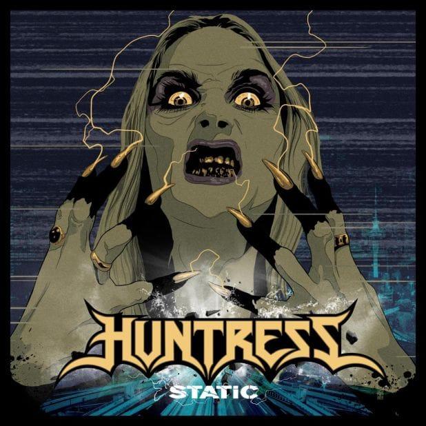 Huntress Static cover