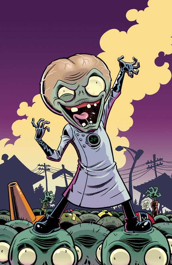 Comic Crypt Plants Vs Zombies Garden Warfare 1