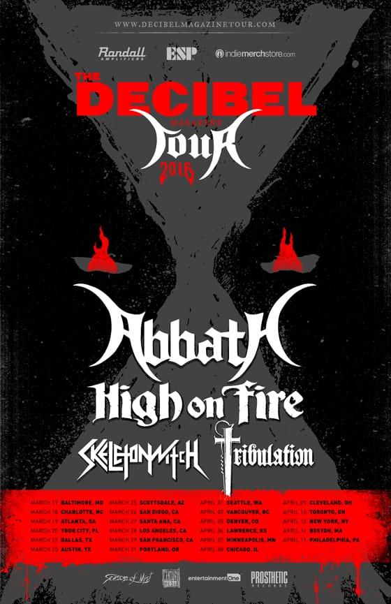Decibel Tour 2016
