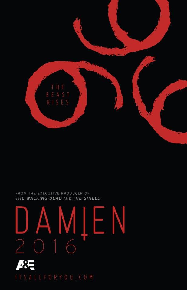 Damien series teaser