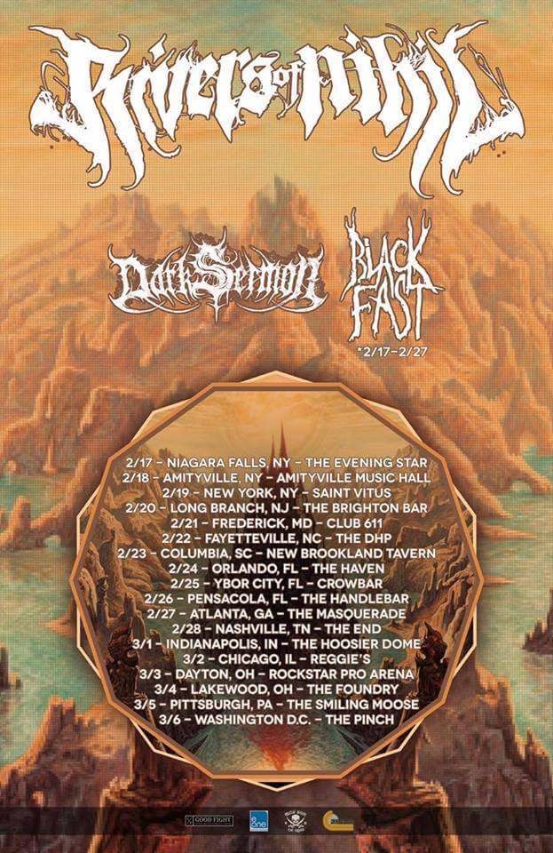Rivers of Nihil tour post