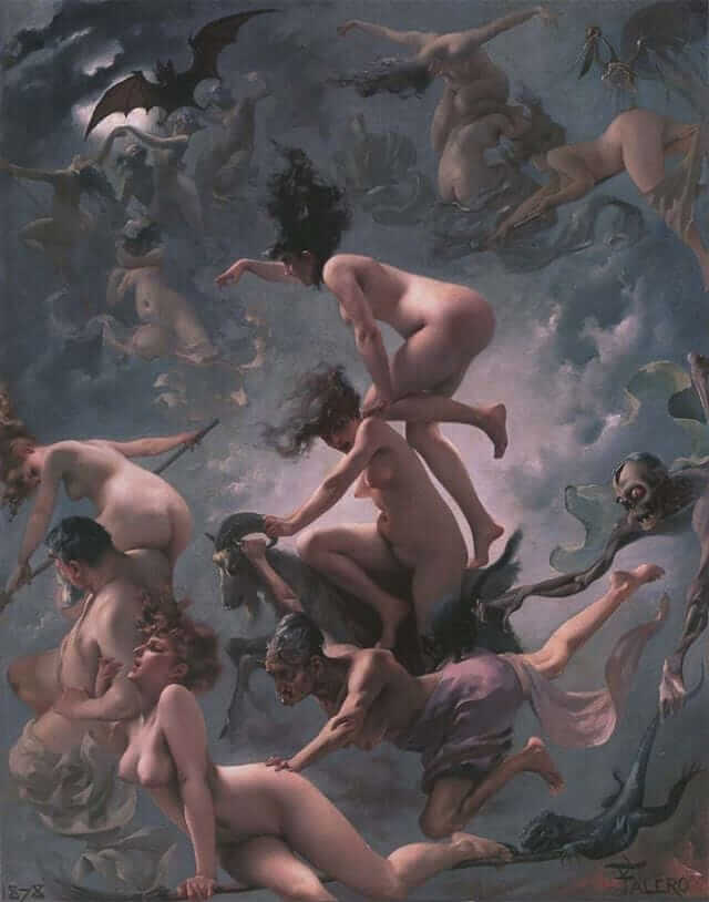 Witches on the Sabbath – Luis Ricardo Falero
