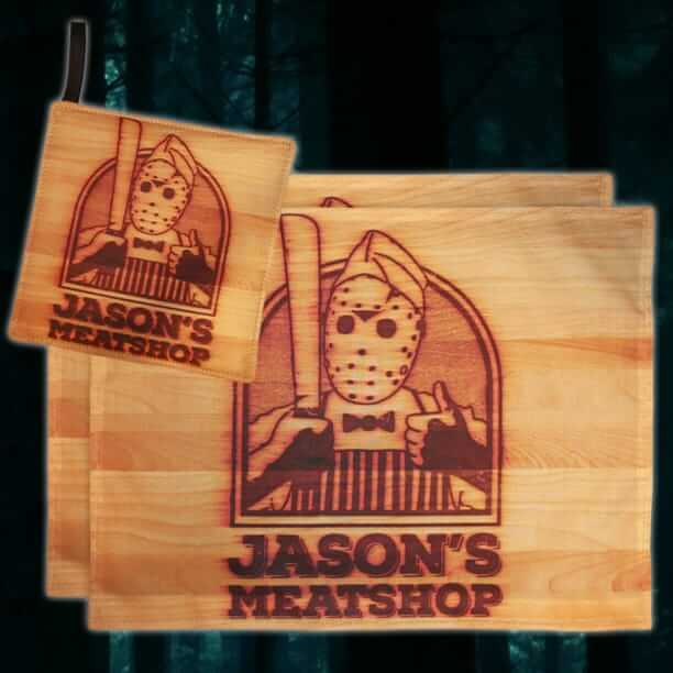 Horror Decor Friday the 13th placemats