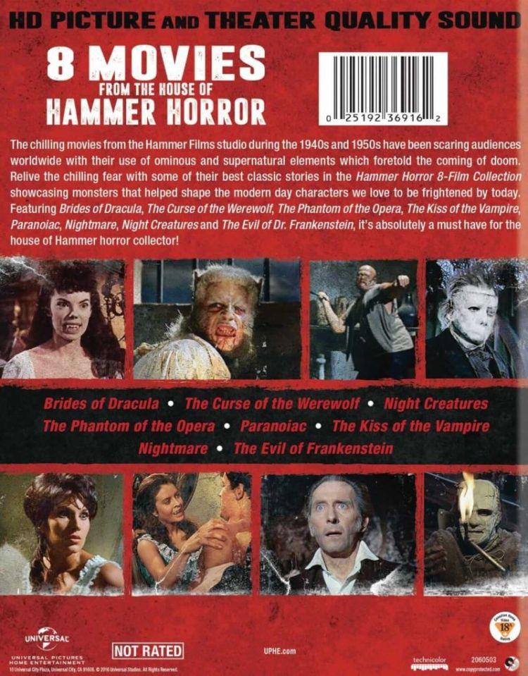 Hammer Horror 8 pack2