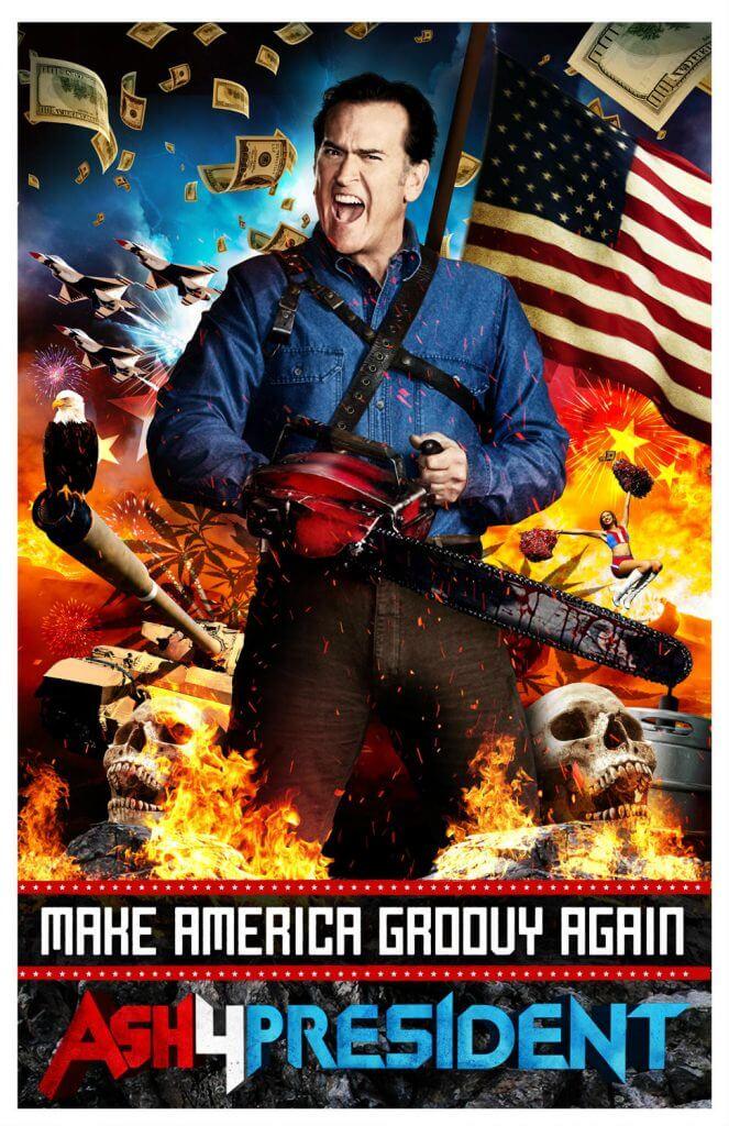 Ash4President poster