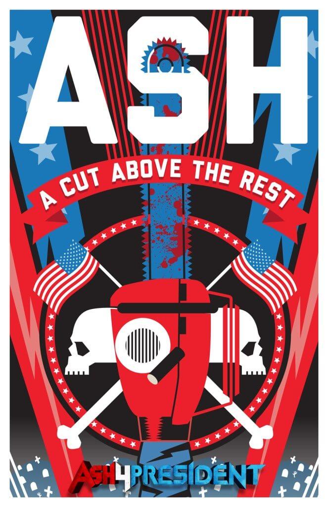 Ash4President poster2