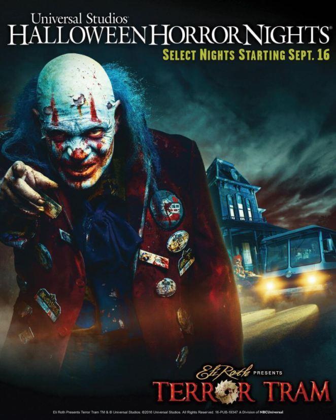 Halloween Horror Nights - Eli Roth presents Terror Tram