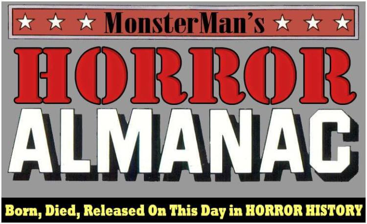 Monsterman's Horror Almanac