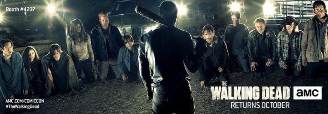 The Walking Dead Season 7 SDCC Poster