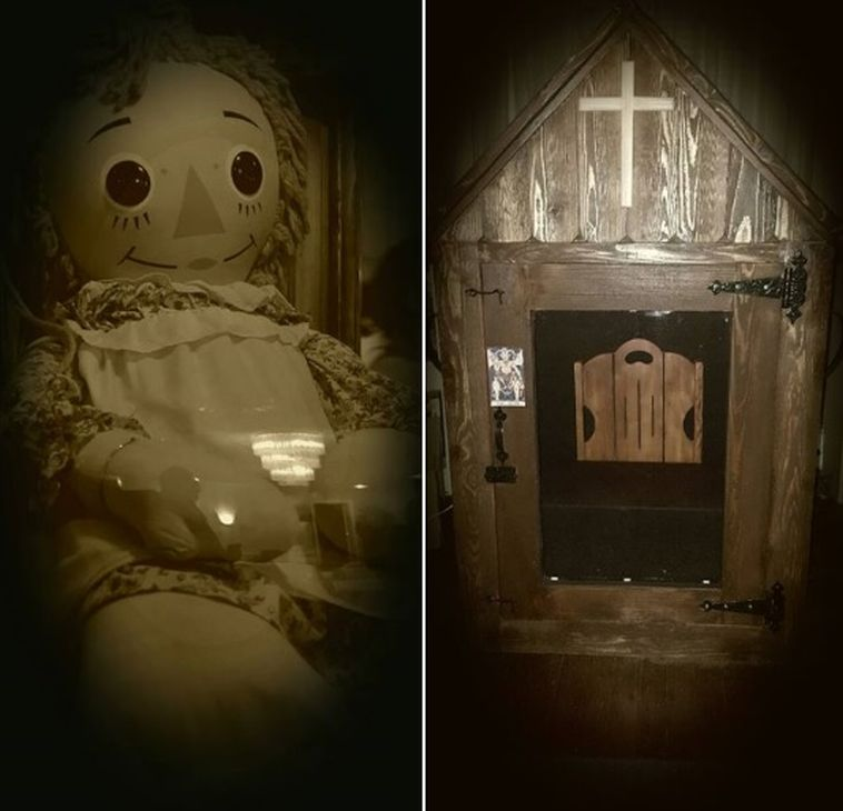 Real Annabelle Doll to be Moved Tonight. Watch It Live!
