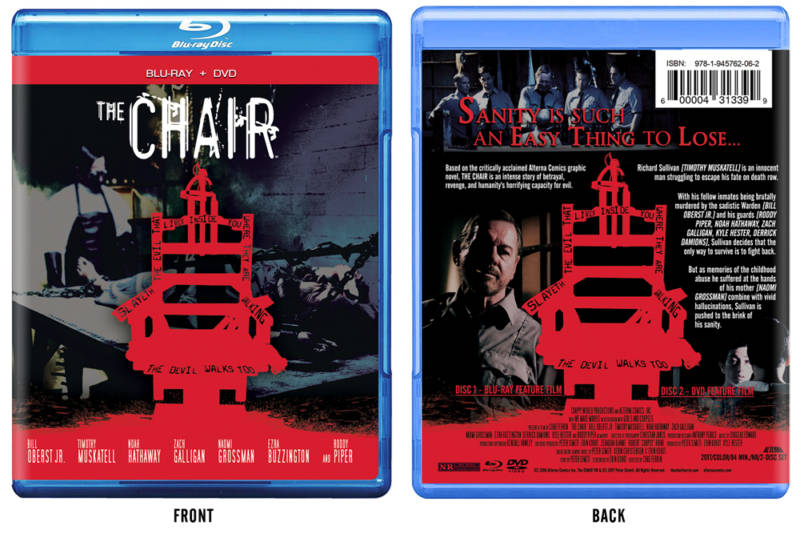 Bloody, Claustrophobic, Heavy Hitting Horror Flick 'The Chair' Now Available for Blu-Ray Pre-Order.