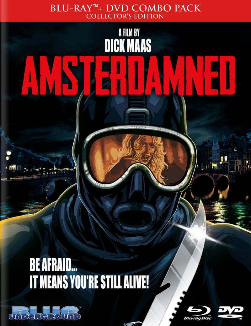 Blu Review- Amsterdamned