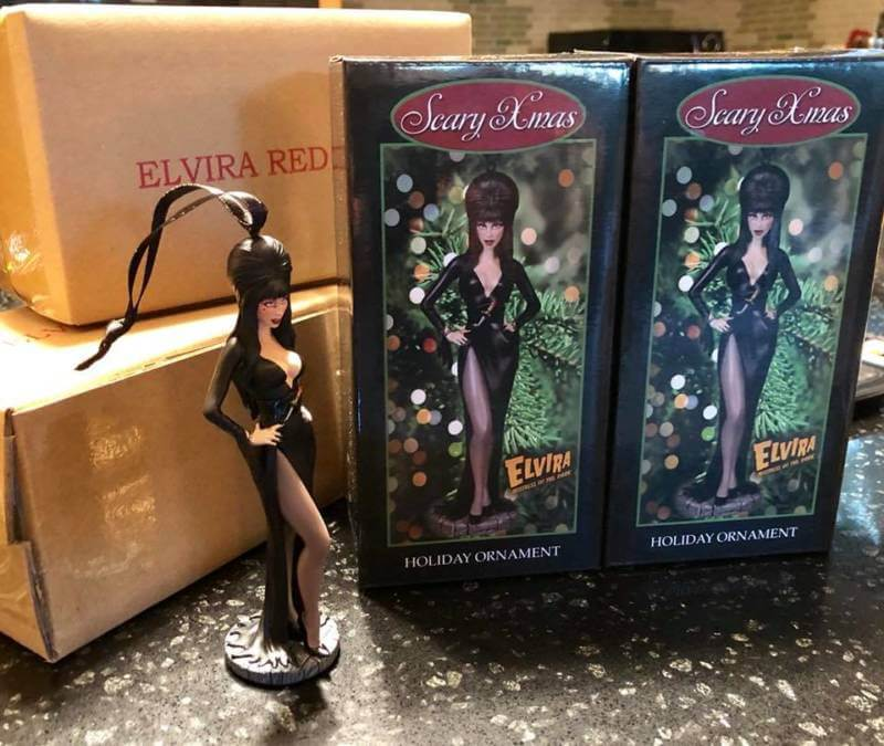 Decorate Your Christmas Tree with These Elvira Ornaments!