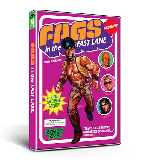Monster Pictures is Thrilled to Unleash Josh Sinbad Collins' Queer Trashploitation Sensation FAGS IN THE FAST LANE