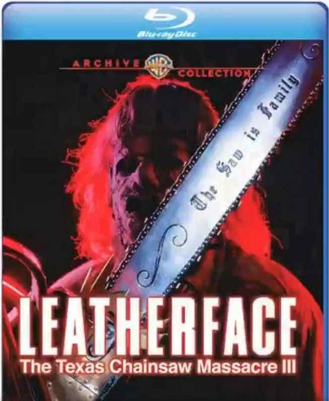Leatherface Texas Chainsaw Massacre Iii Poster